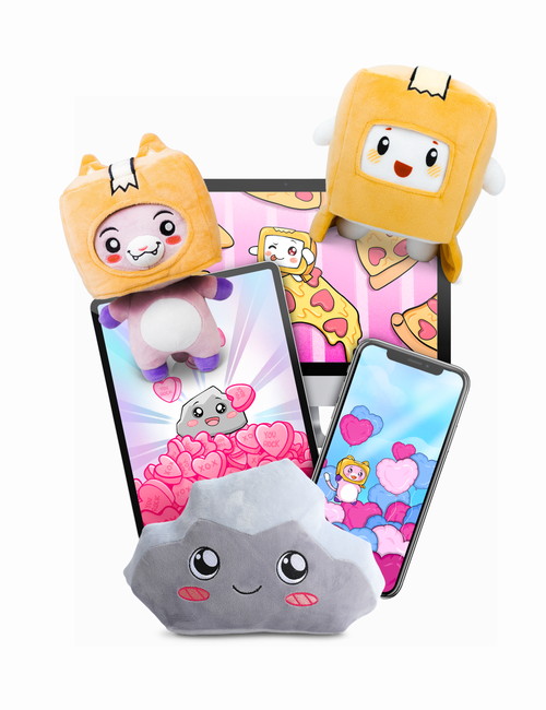 LankyBox Plush Toy Bundle (w/ Digital Wallpapers) (Pre-Order)