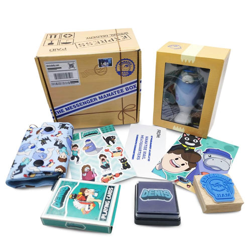 Messenger Manatee Box