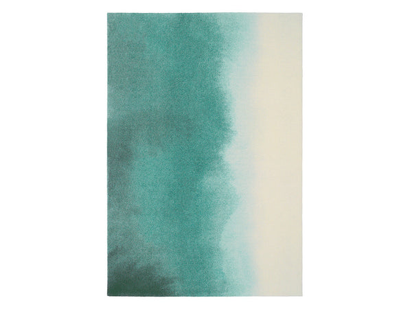 Teal Paintbox Rug