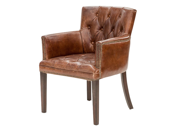 Georgia Chair / Aged Leather
