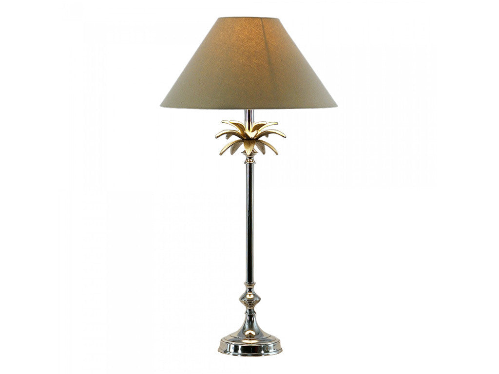 Duke Table Lamp / Linen Shade