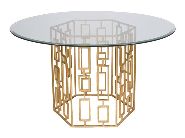 Jackson Hexagonal Table / Gold