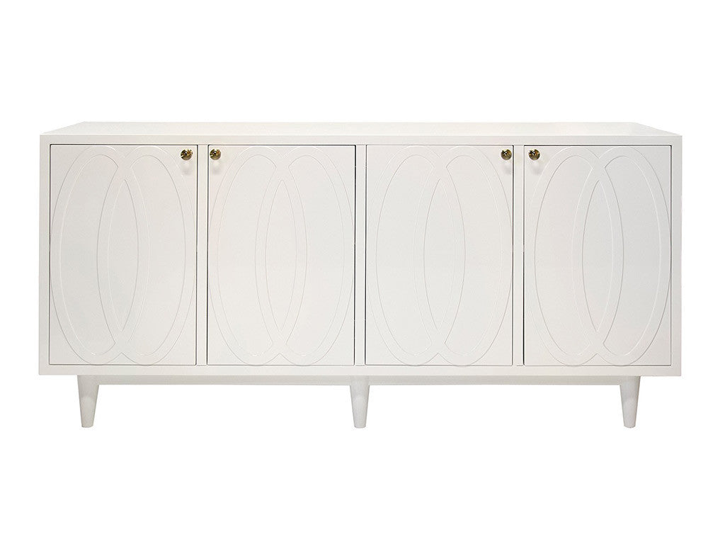 Mathis Console / White