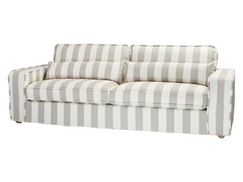 Abbey Beach Sofa / Stripe