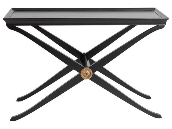 Paloma Console Table / Ebony