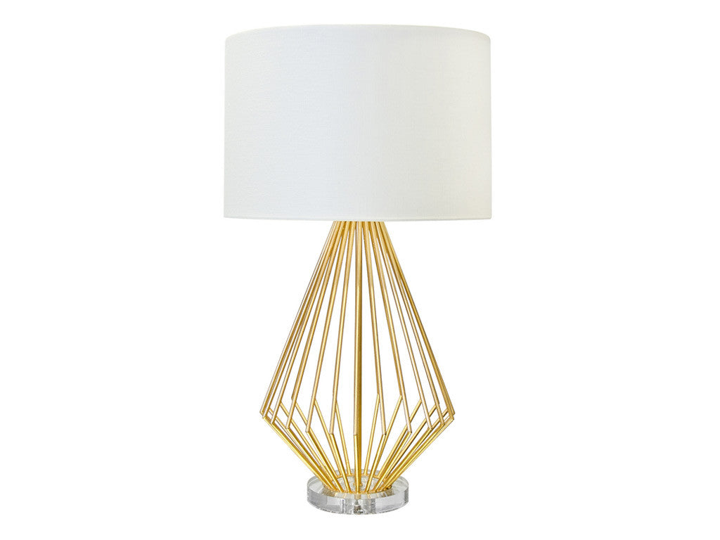 Truman Table Lamp / Gold Leaf