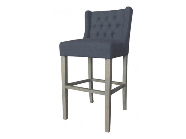 Audrey Bar Stool / Charcoal