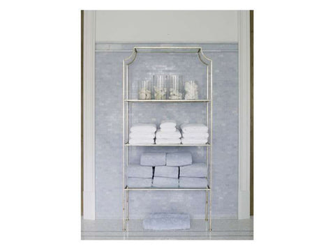 Chloe Etagere / Gold & Silver