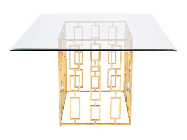 Jackson Square Table / Gold