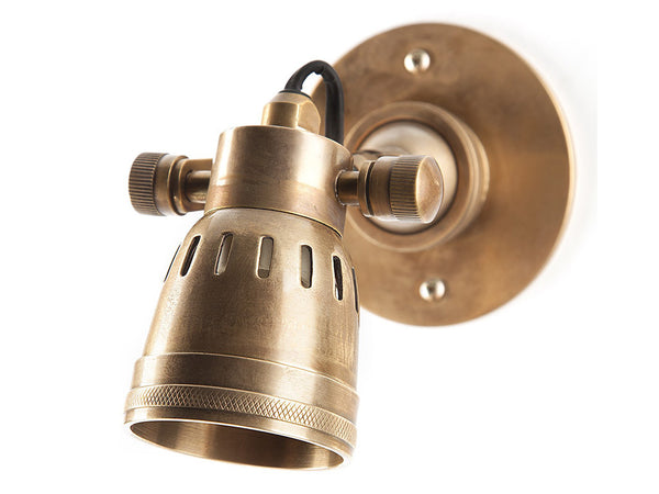 Lyon Wall Light / Short Brass
