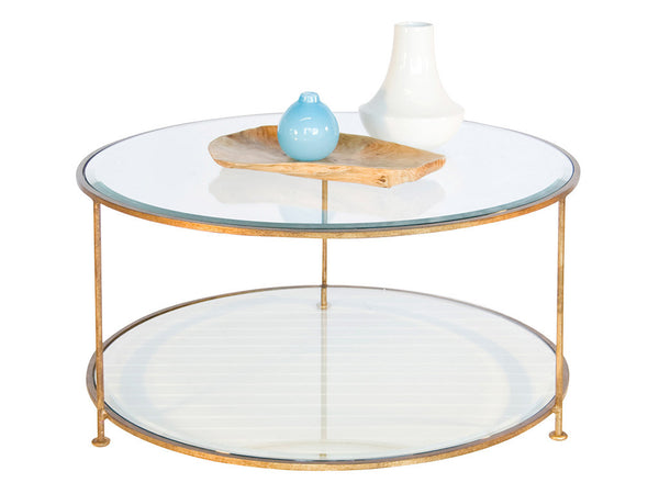 Rollo Coffee Table / Gold