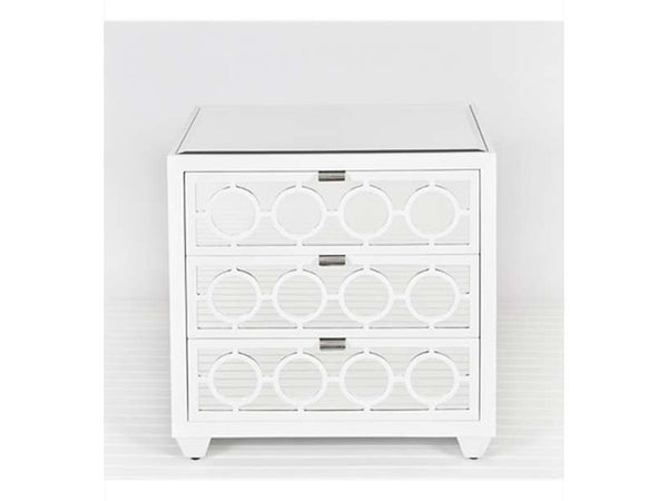 Ava Side Table / White