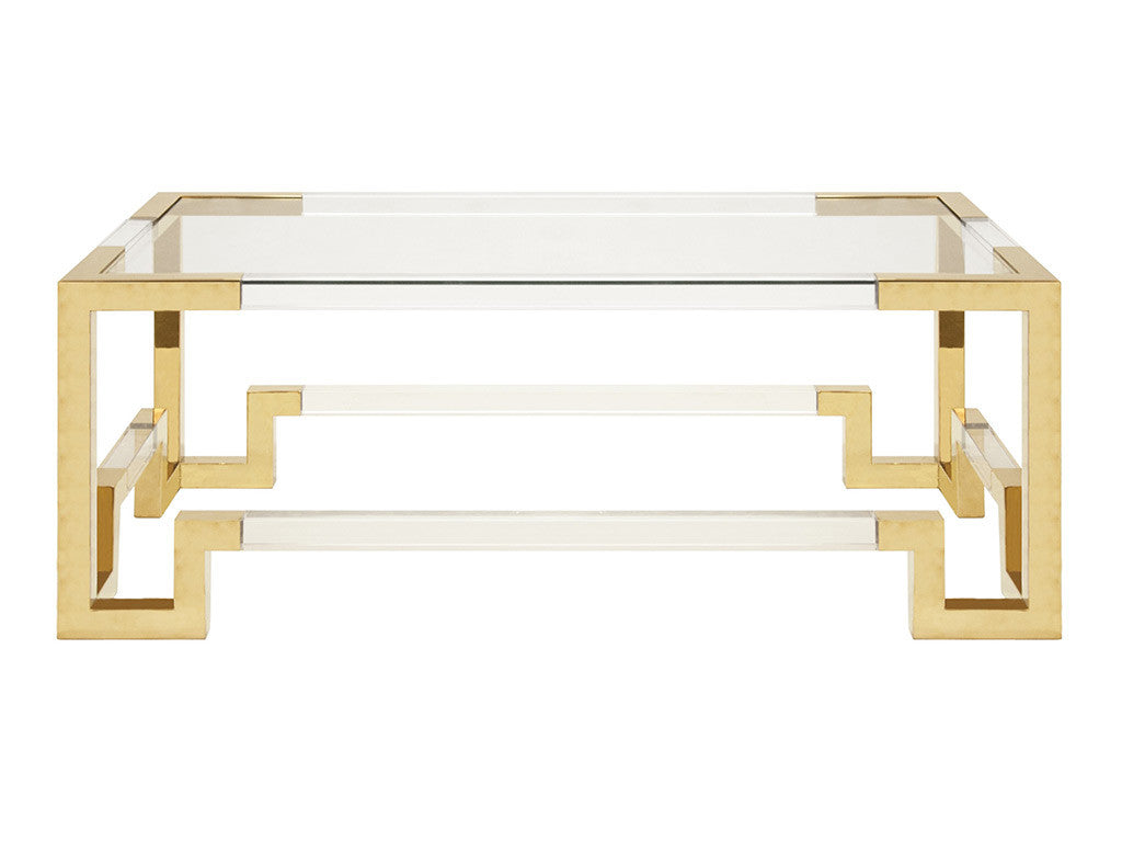 Jacques Coffee Table / Gold
