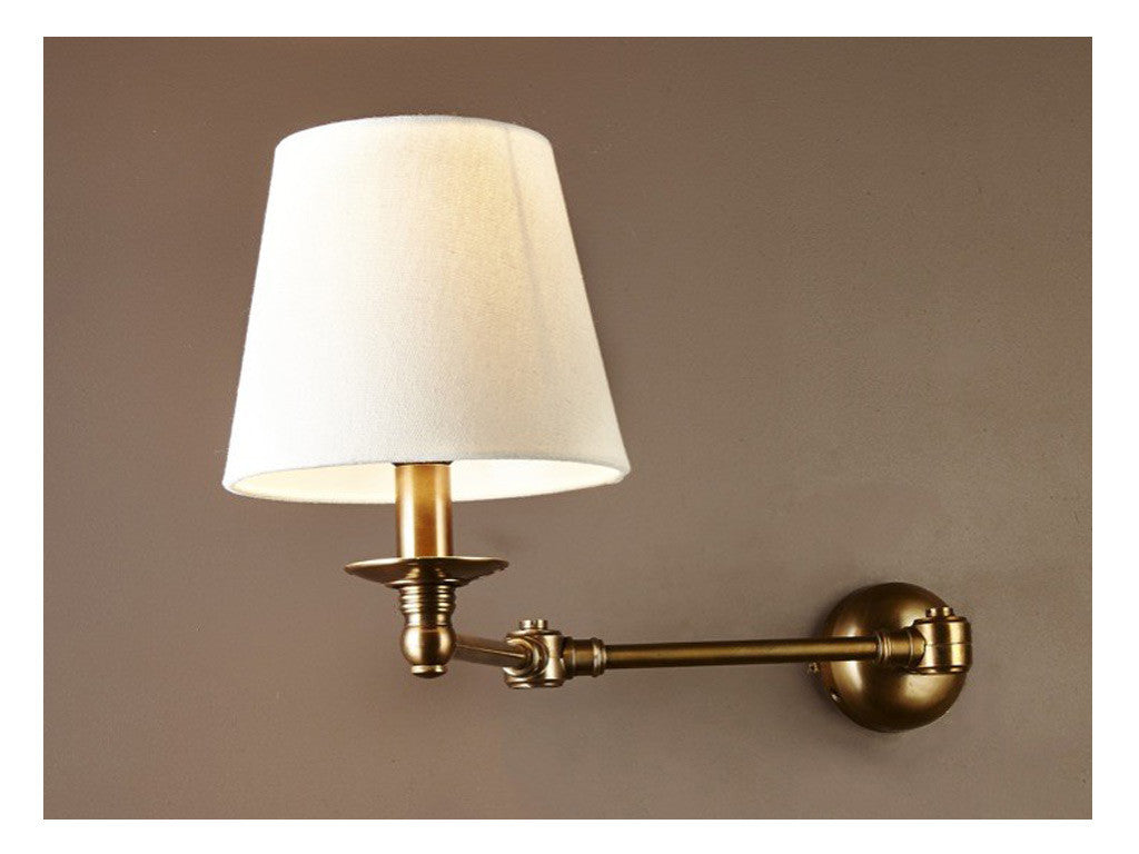 Pippa Wall Light / Brass