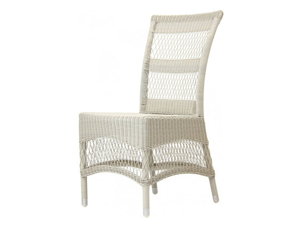 Victoria Outdoor Dining Chair / White
