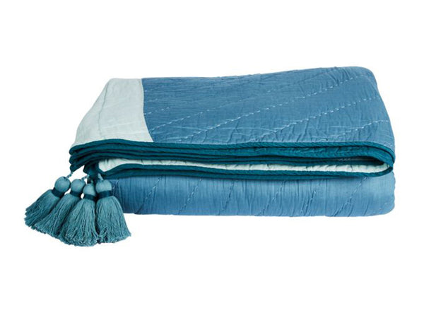 Rising Sun Bedcover / Blue
