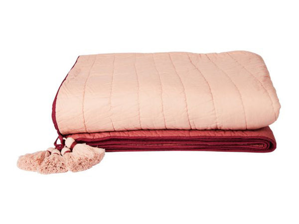 Rising Sun Bedcover / Pink