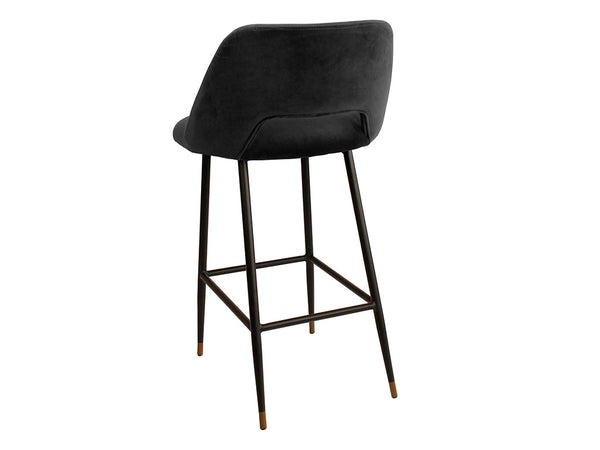 Milan Bar Stool / Black
