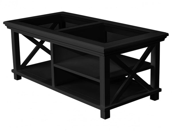 Hamptons Coffee Table / Black