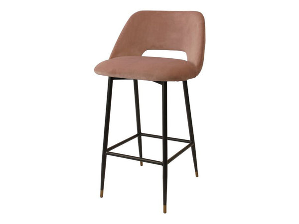 Milan Bar Stool / Blush
