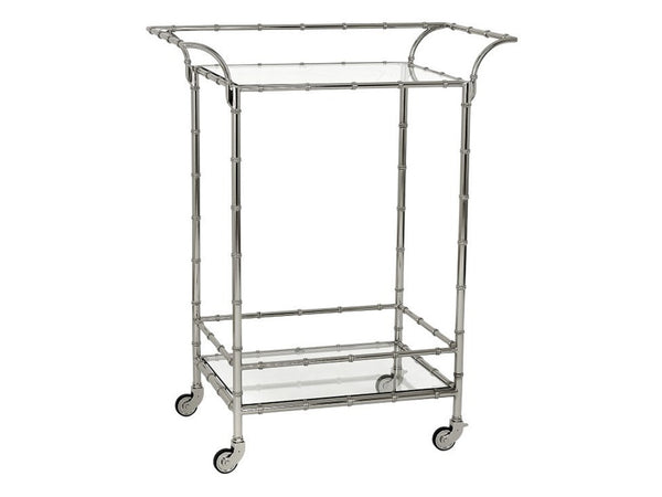 Coco Bar Cart / Nickel