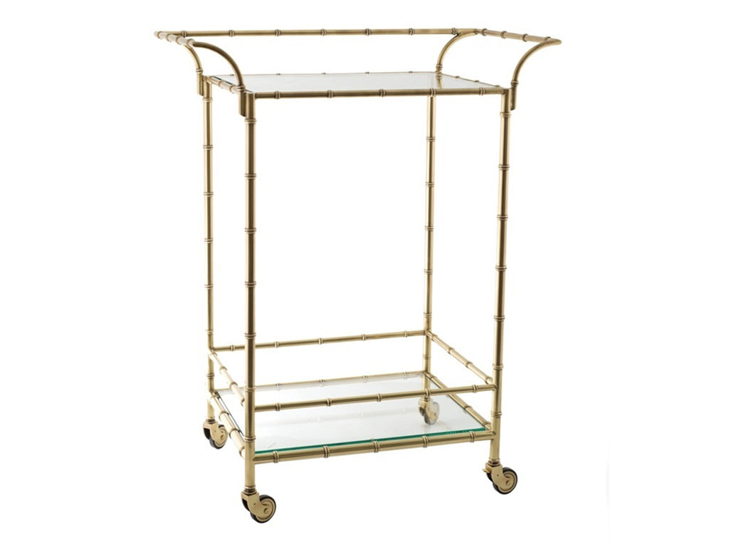 Coco Bar Cart / Brass