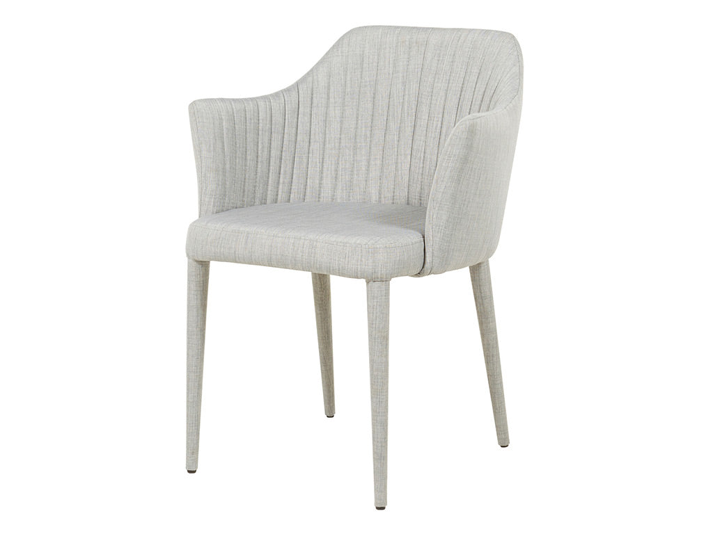 Valentina Arm Chair / Cool Grey