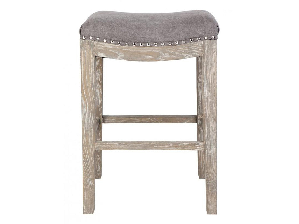 Nicholson Bar Stool / Grey