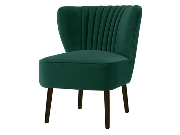 Matilda Chair / Ivy Green / Black Legs