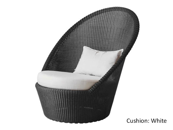 Violetta Outdoor Chair/ Graphite
