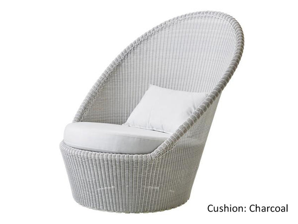 Violetta Outdoor Chair / White
