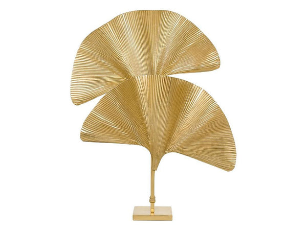 Sculptural Palm Leaf Lamp
