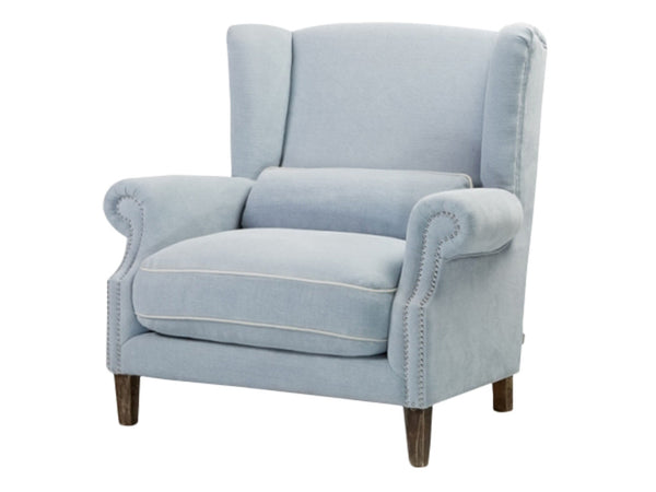 Maison Occasional Chair / Light Blue