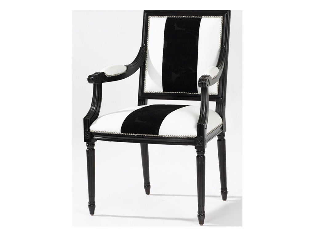 Lucia Arm Chair / Monochrome