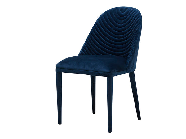 Estelle Dining Chair / Blue Velvet