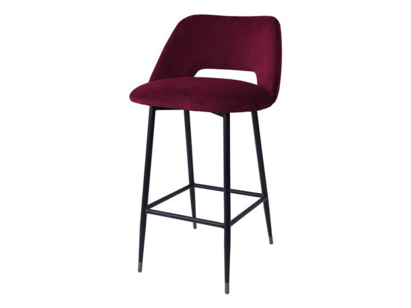 Milan Bar Stool / Marsala
