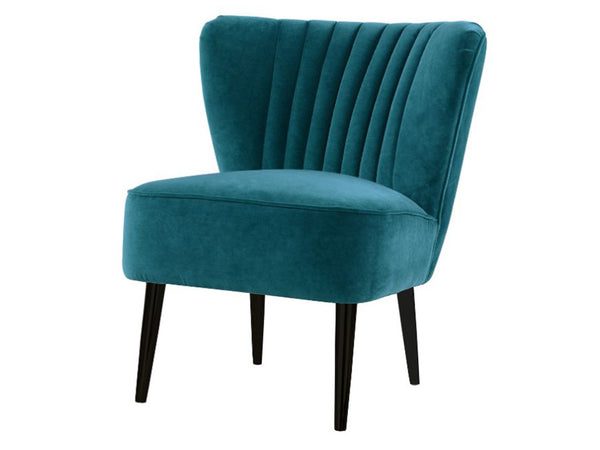 Matilda Chair / Peacock / Black Legs