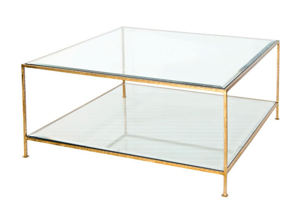 Quadro Coffee Table / Gold