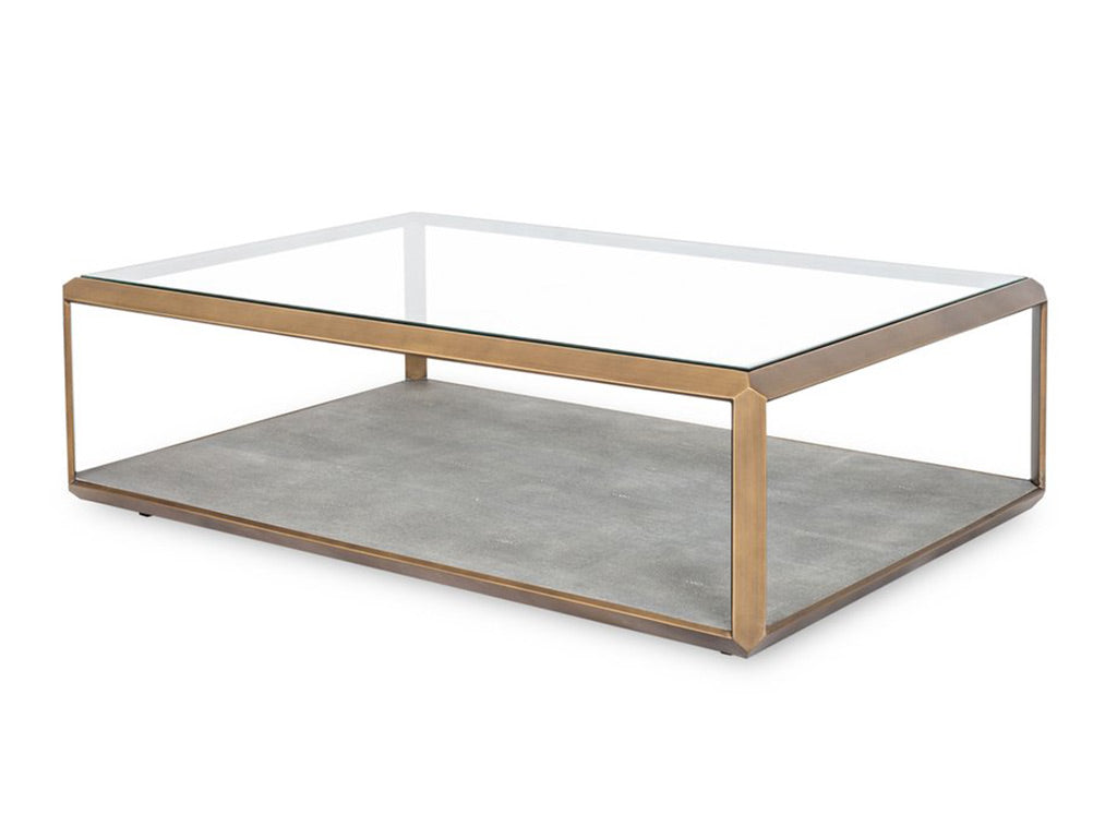 Leya Coffee Table / Brass