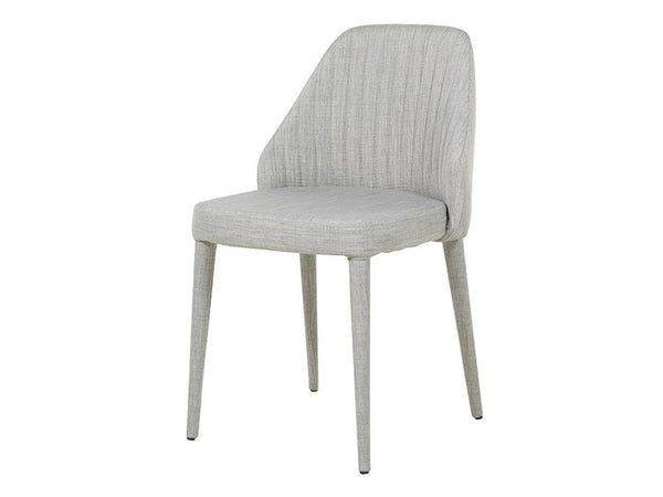 Valentina Side Chair / Cool Grey