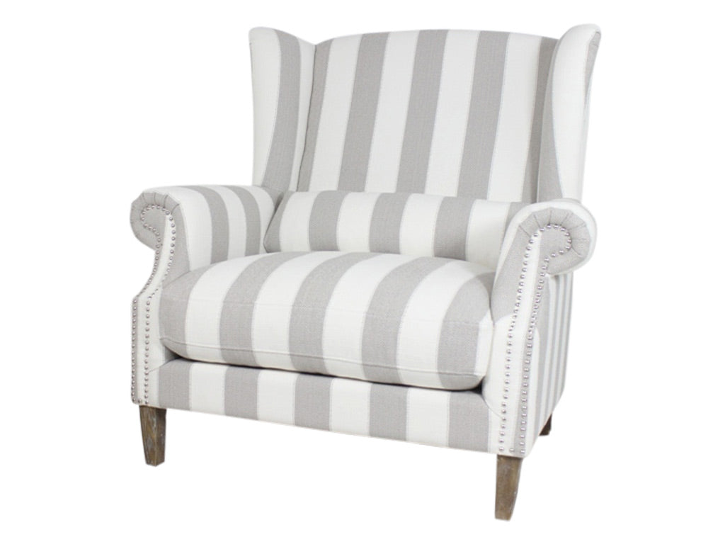 Maison Occasional Chair / Stripe