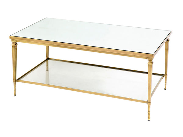 Felipe Coffee Table / Brass