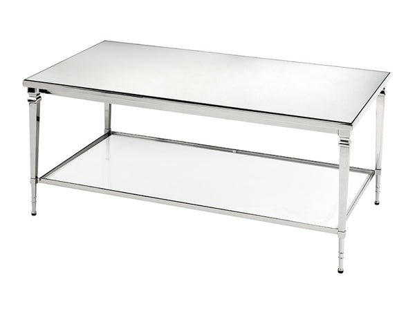 Felipe Coffee Table / Nickel