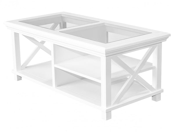 Hamptons Coffee Table / White