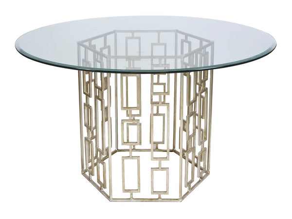 Jackson Hexagonal Table / Silver
