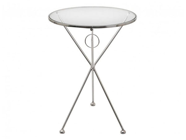 Circular Glass Folding Table