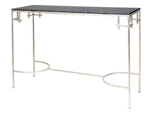 Marcy Console / Silver & Black
