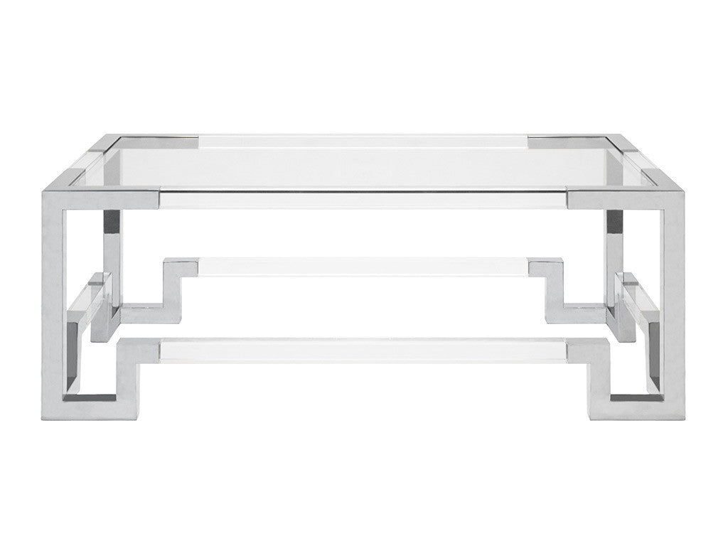 Jacques Coffee Table / Silver