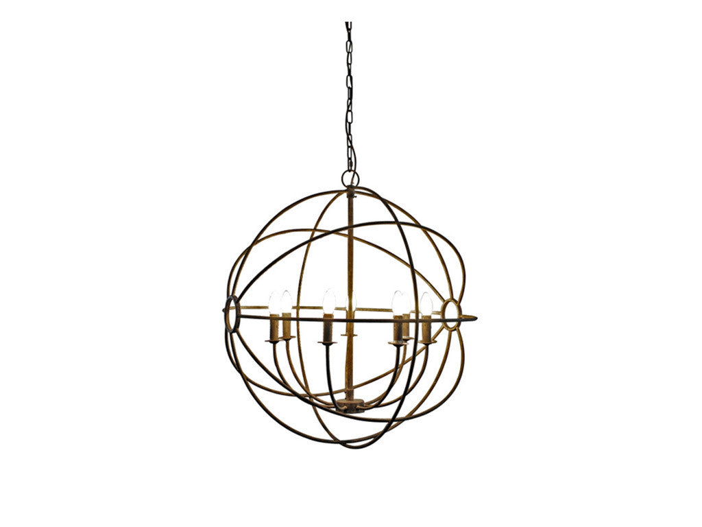 HAMPTONS ORB CHANDELIER
