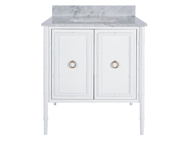 Jane Bath Vanity / White & Gold